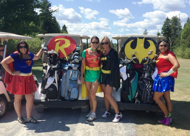 Golf, tiki huts, inflatable slides and charitable giving: Having fun while supporting the Ottawa School Breakfast Program