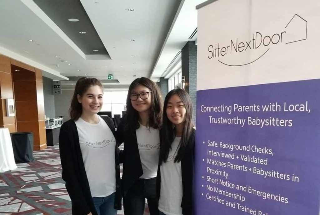 SitterNextDoor, ONFE, Ottawa Network for Education, Andrea Herscovich, Jenny Shen, Jenny Hua, JAOttawa, ROPE, Réseau d'Ottawa pour l'éducation