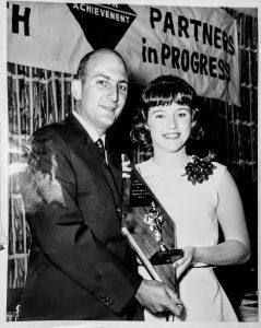 JA, Gerrie Trotman, Charles Bronfman, Junior Achievement