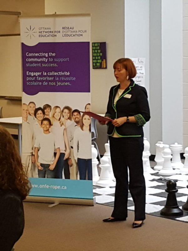 Heather Norris, ONFE, Ottawa Network for Education, charity, Ottawa, Réseau d'Ottawa pour l'éducation, Employer Connections, Collaboration avec les employeurs