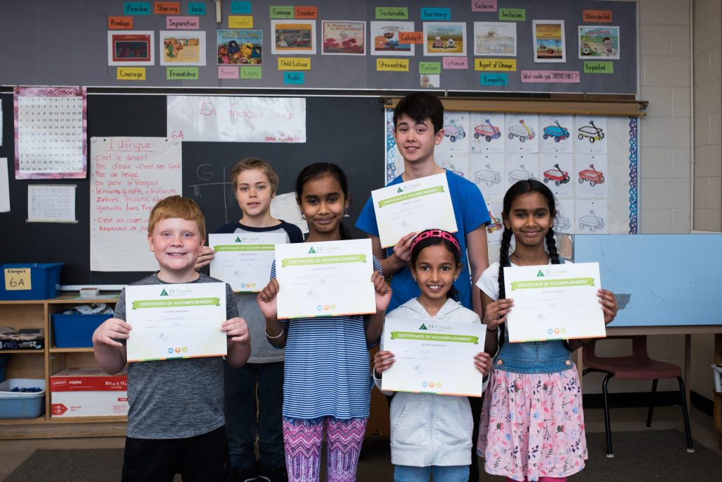 Children with JA completion certificates