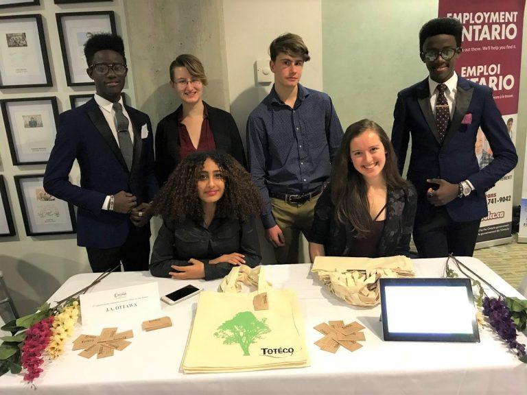 Young JA Ottawa Environmentalist Making an Impact