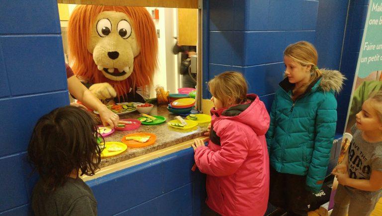 More than just a hockey team: The Ottawa Senators Foundation supports ONFE's School Breakfast Program