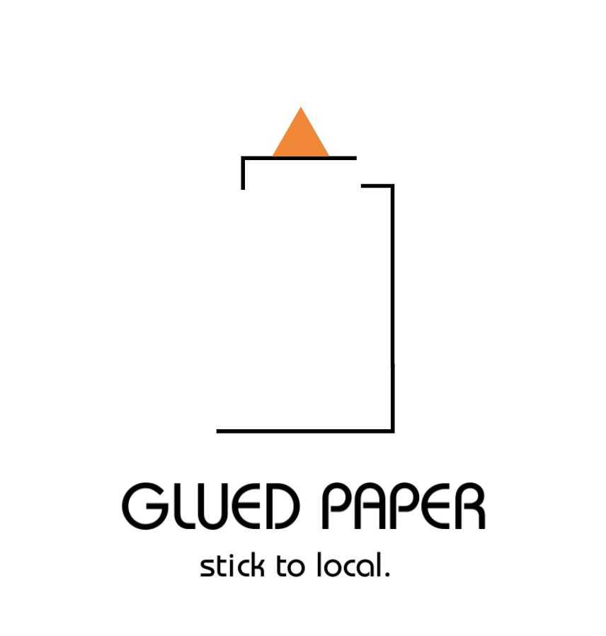 Glued Paper logo